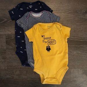 Blue and Gold Bodysuit Bundle 🦉